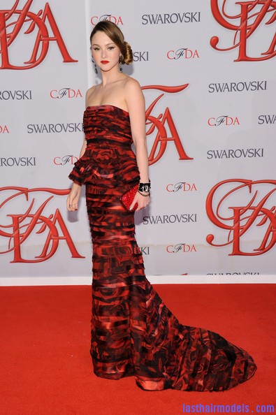 2012+CFDA+Fashion+Awards+Devon+Aoki Devon Aokis silky side ballerina bun.