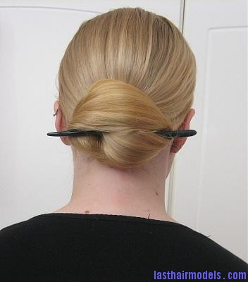 40b3515c14f908001879e2e61d14ed84 Lazy wrap hairstyle: Tuck a stick in!