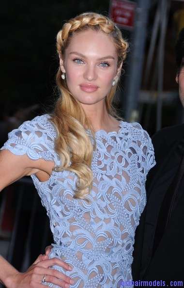 Candice+Swanepoel+CFDA+Fashion+Awards+NYC+eTF3JVnFayRl Candice Swanepoel's crown braid with bottle curls.