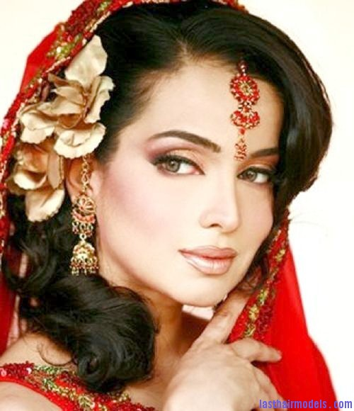 Excellent Latest Indian Bridal Hairstyles 2012 Hairstyle Pictures Short Hairstyles Gunalazisus