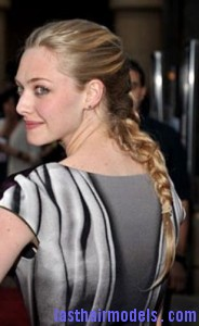 amanda seyfried8 184x300 Amanda Seyfrieds Voluminous Braid
