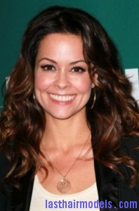 brooke burke7 198x300 Brooke Burke Hairstyle With Spiral Curls