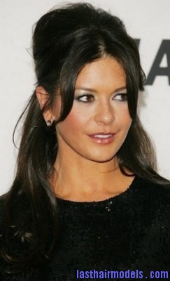 catherine zeta jones2 Last Hair Models Hair Styles - Bangs Hairstyle