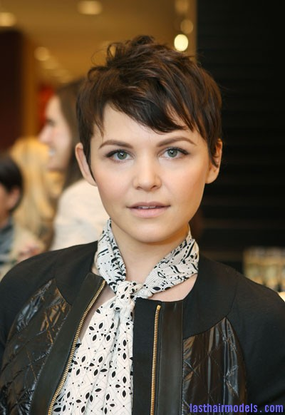 1122 ginnifer goodwin spiky short hair bd Ginnifer Goodwins plucked out hairstyle: Designed for chic women!