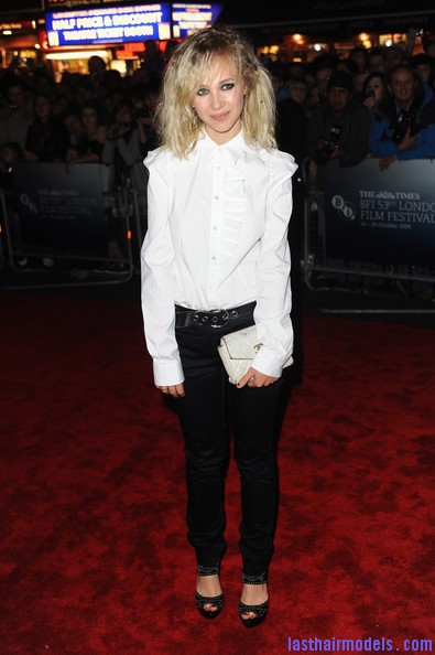 Cracks+Red+Carpet+Times+BFI+London+Film+Festival+iRI7bN30Ns6l Juno Temple's messy stranded hair look! : Hippie hairstyle in simplicity!