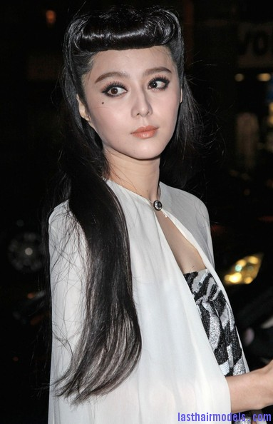 Fan+Bingbing+Celebs+Louis+Vuitton+Show+Paris+JX9 4PXkXRul Fan Bing Bings retro rotund updo: Retro meets modern!!