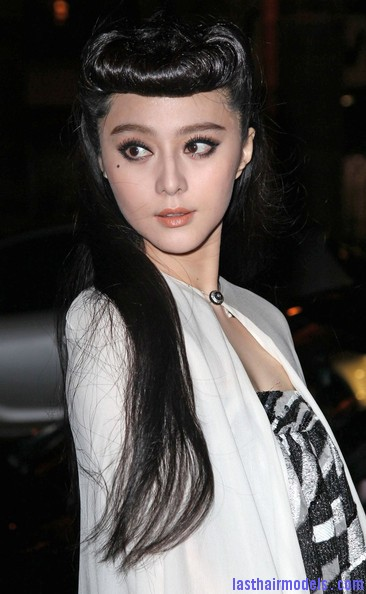 Fan+Bingbing+Celebs+Louis+Vuitton+Show+Paris+ngIR4Mu48aRl Fan Bing Bings retro rotund updo: Retro meets modern!!