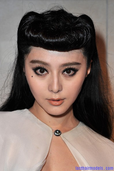 Fan+Bingbing+Louis+Vuitton+Marc+Jacobs+Exhibition+AITbdPNWJROl Fan Bing Bings retro rotund updo: Retro meets modern!!