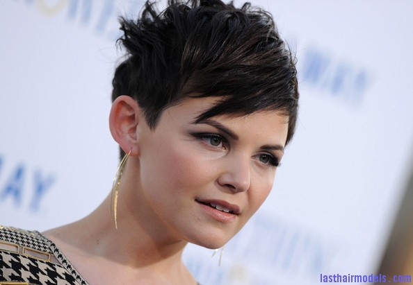 Ginnifer+Goodwin+Short+Hairstyles+Short+Straight+t pC4mdnfL l Ginnifer Goodwins plucked out hairstyle: Designed for chic women!