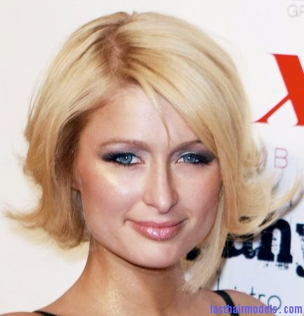 Paris Hilton 1 Paris Hilton's asymmetrical bob: Peppy hairstyle!