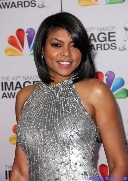 Taraji+P+Henson+Dresses+Skirts+Evening+Dress+4DgRXl4n1pGl Taraji P Hensons chin length blunt cut: Sleeky shorty mane!