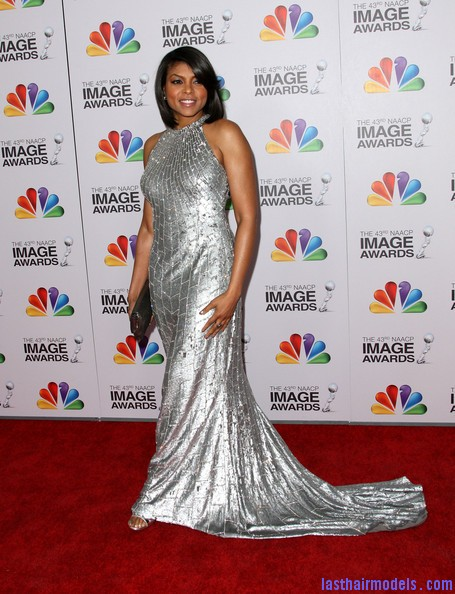 Taraji+P+Henson+Dresses+Skirts+Evening+Dress+s7ZfCgohI Pl Taraji P Hensons chin length blunt cut: Sleeky shorty mane!