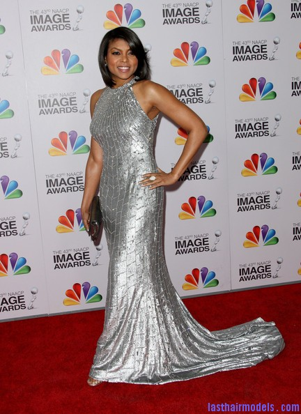 Taraji+P+Henson+Dresses+Skirts+Evening+Dress+vb0t 3jXSIXl Taraji P Hensons chin length blunt cut: Sleeky shorty mane!
