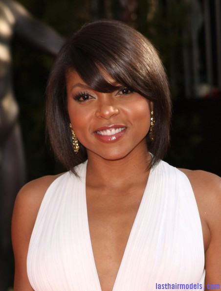 Taraji+P+Henson+Short+Hairstyles+Bob+FMYPu1WQwwgl Taraji P Henson's sleek shiny bob : shine in perfection!