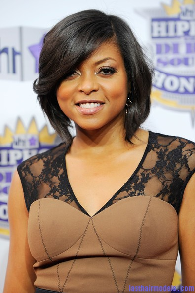 Taraji+P+Henson+Short+Hairstyles+Bob+n d8vssKcxql Taraji P Henson's sleek shiny bob : shine in perfection!