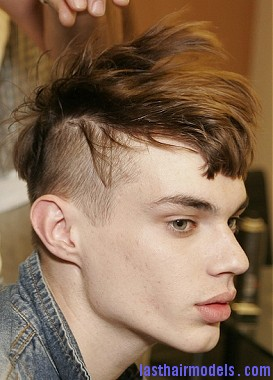 Asymmetrical hairstyles for men:  Change the trend!