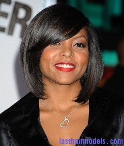 black women bob hairstyle bangs 256x300 black women bob hairstyle bangs