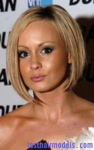 chanelle hayes 189x300 Chanelle Hayes With Preppy Hairstyle