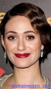 emmy rossum8 174x300 Emmy Rossums Marcel Waves