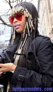 erykah badu4 175x300 Hairstyle With Beads