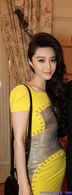 fan bingbing pierce brosnan 27938 Fan Bing Bing's thick spinned up curls: Bouncing the spring everywhere!