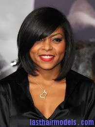 images1 Taraji P Henson's sleek shiny bob : shine in perfection!
