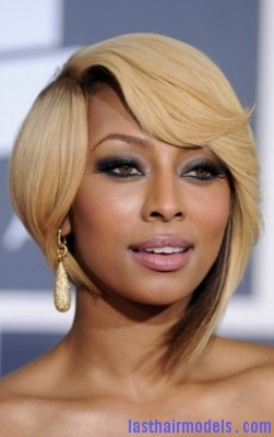 Keri Hilson Hairstyles Try to style the hair by