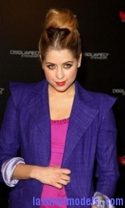 peaches geldof 181x300 Peaches Geldofs Sloppy Bun