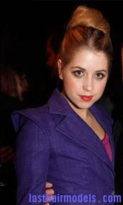 peaches geldof7 Peaches Geldofs Sloppy Bun