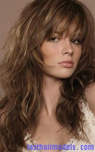 shaggy hair 187x300 Wavy Shag Hairstyle