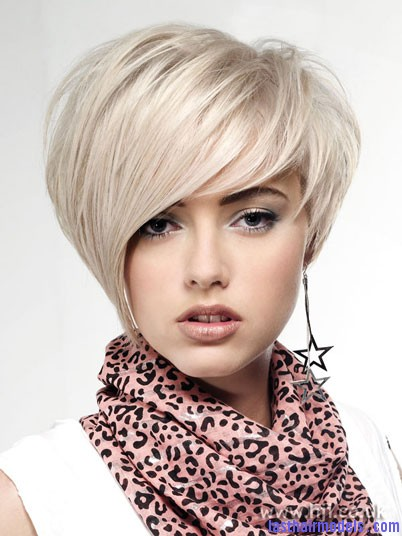 Shorter asymmetric hairstyles: Bring the rebel out in style!