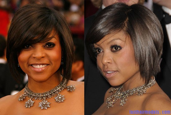 taraji bob style 2 Taraji P Henson's sleek shiny bob : shine in perfection!