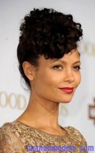 Remarkable Thandie Newton39S High Curly Hairstyle Last Hair Models Hair Short Hairstyles For Black Women Fulllsitofus