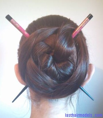 chinese criss cross hair sticks traditionally sexy