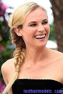 2ee8c95e9c14b28a diane 6.xlarge Diane Kruger's 'Y' shaped messy plait: Styling is fun!