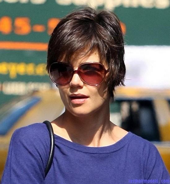 Swell Katie Holmes New Hair Style New Styles Short Hairstyles Gunalazisus