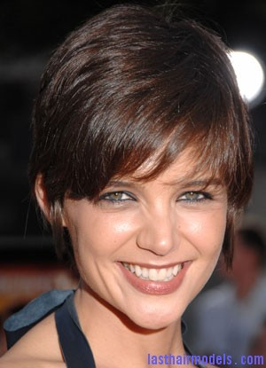 Katie Holmes+Aug 11 2008 Katie Holmes short crop hairstyle: Sexy and attractive!