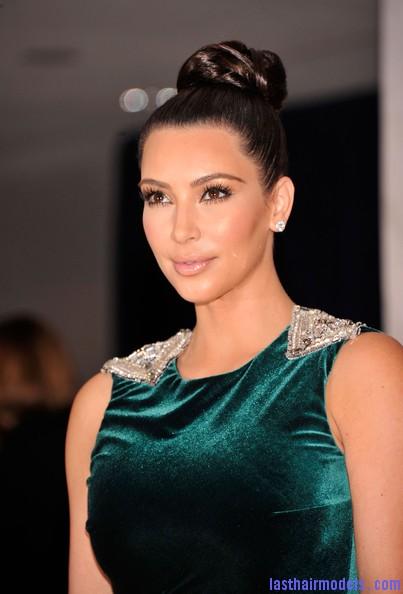Kim+Kardashian+Updos+Braided+Bun+rdV JZbxeGal Crest blob hairstyle.