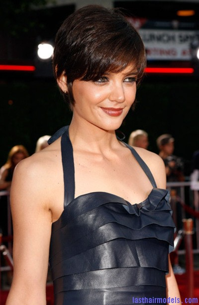 Pixie Crop Hairstyle from Katie Holmes1 Katie Holmes short crop hairstyle: Sexy and attractive!