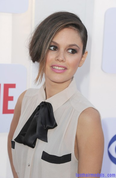 Rachel+Bilson+Updos+French+Twist+ LJs3zK4fdMl Rachel Bilson's long side bang: With a faux bob! Beautiful!