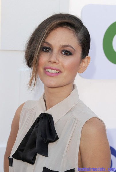 Rachel+Bilson+Updos+French+Twist+K4RH2PVRuh8l Rachel Bilson's long side bang: With a faux bob! Beautiful!
