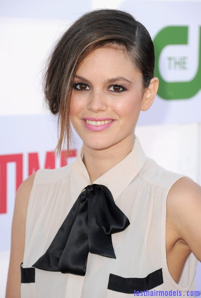 Rachel+Bilson+Updos+French+Twist+P7xXRG1BTkal Rachel Bilson's long side bang: With a faux bob! Beautiful!