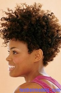 afro mohawk6 197x300 Afro Mohawk Hairstyle
