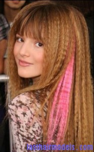 bella thorne4 187x300 Crimping Hair Without a Crimper