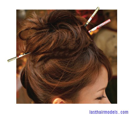 chopsticks last hair models hair styles last hair