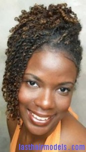 double strand twist 171x300 Hairstyle With Double Strand Twist