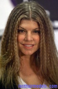 fergie 196x300 Crimping Hair Without a Crimper