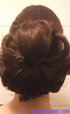 Flower Bun4 Last Hair Models Hair Styles Last Hair Models Last Hair Styles