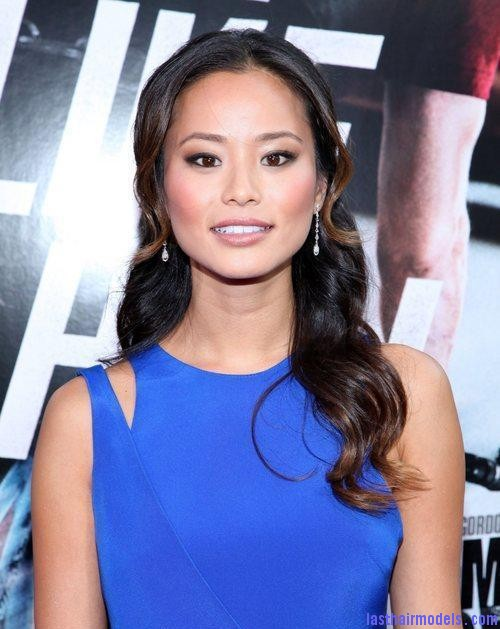 jamie chung world premiere of columbia pictures 4044237 Jamie Chung's wavy half tie: Bouncing to life!