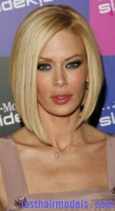 jenna jameson 164x300 Short Swing Bob Hairstyle